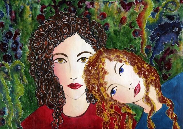 2 Schwestern Nr. II